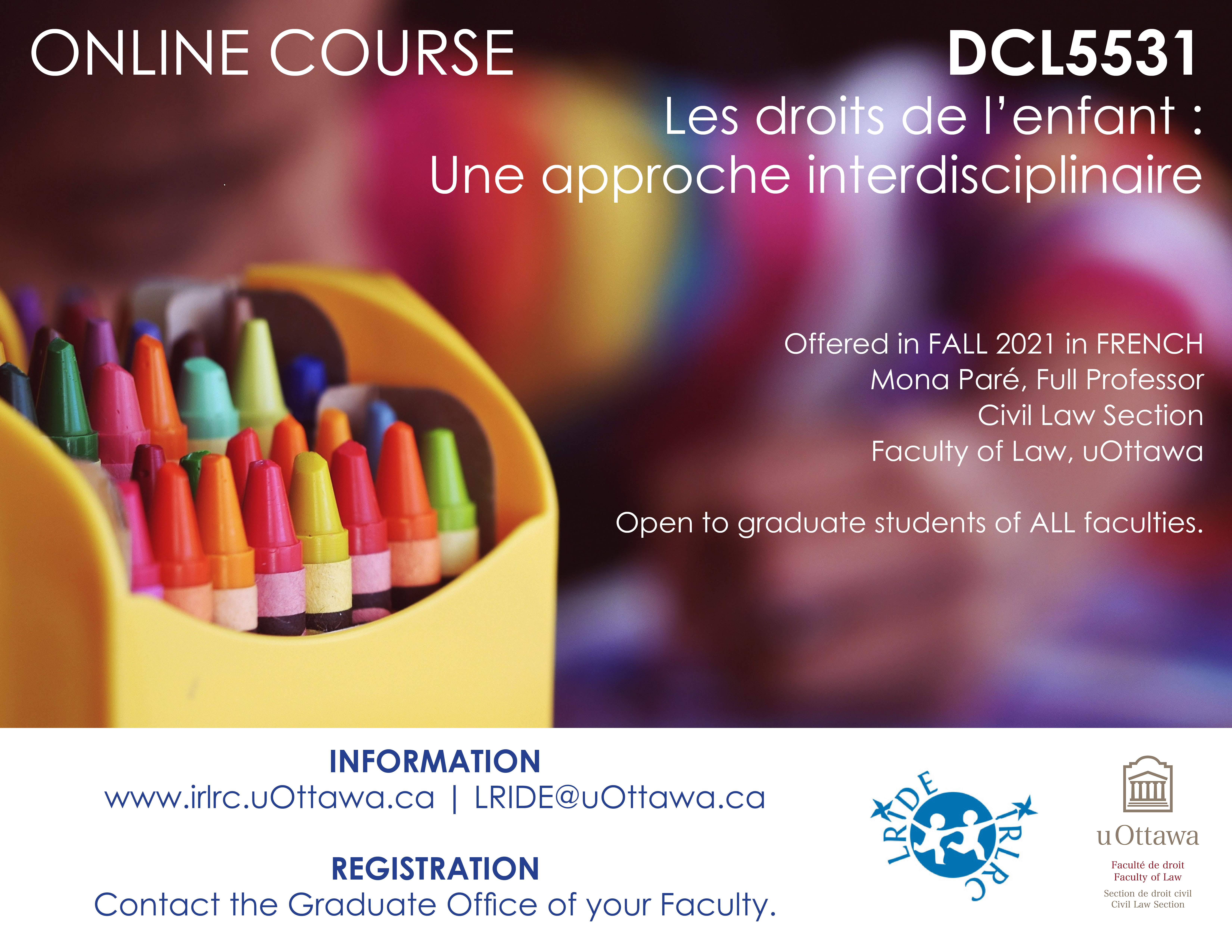 An Interdisciplinary Approach in French   Child drawing with crayons.