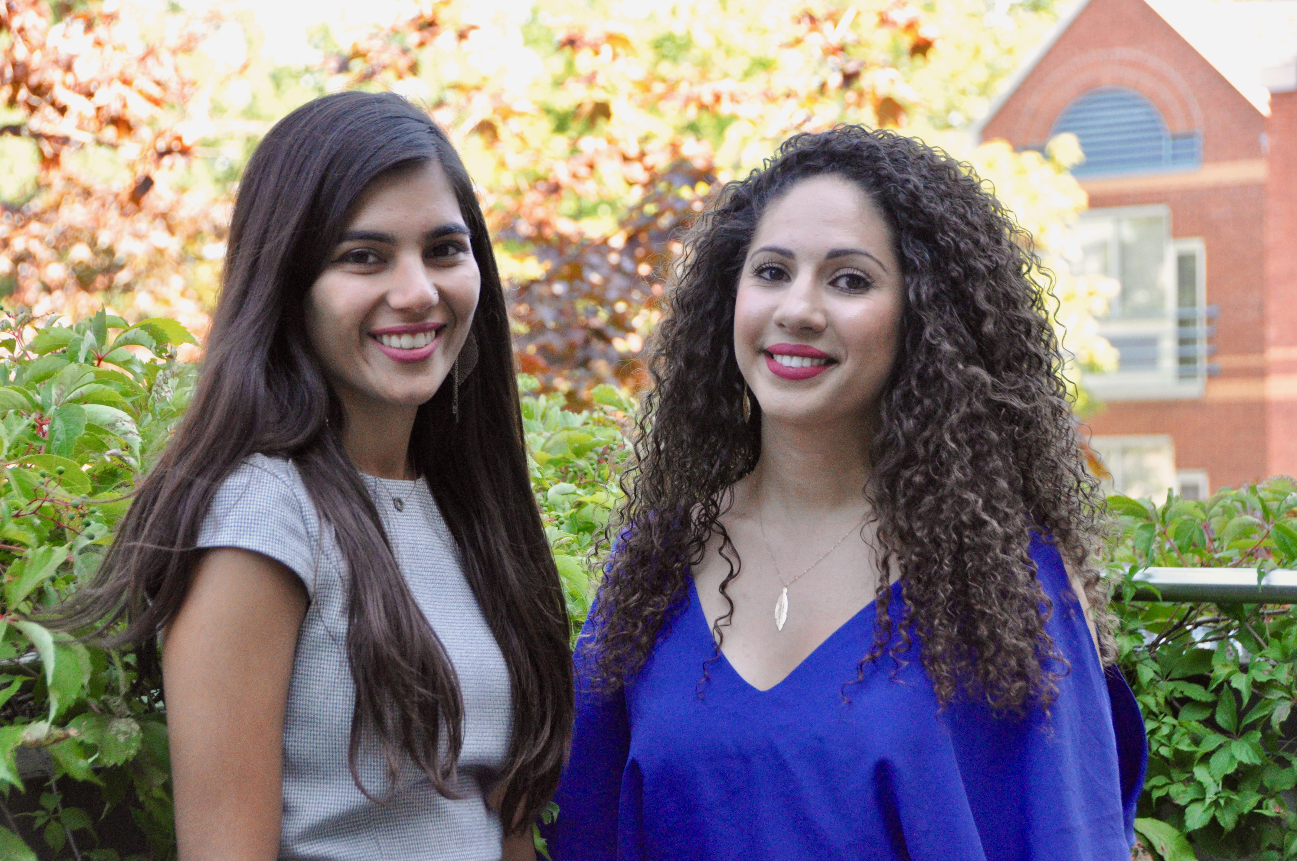 Sidra Sashmi and Amira Maameri