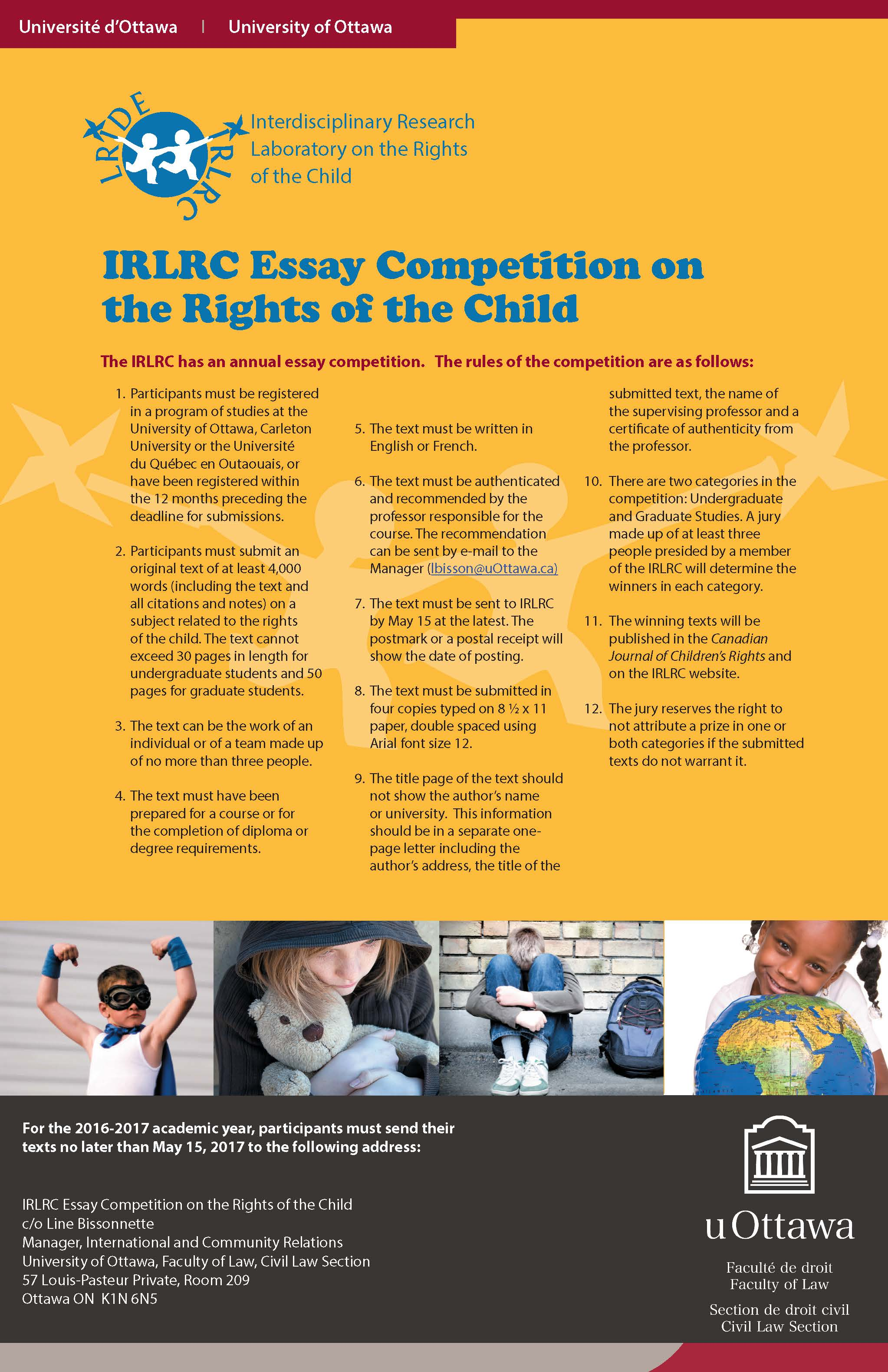 english essay competitions Contest entry forms are online links (click on below) detailed contest flyers can be found in the hallway forms area, adjacent to 176 voorhies contest / eligibility deadline category.