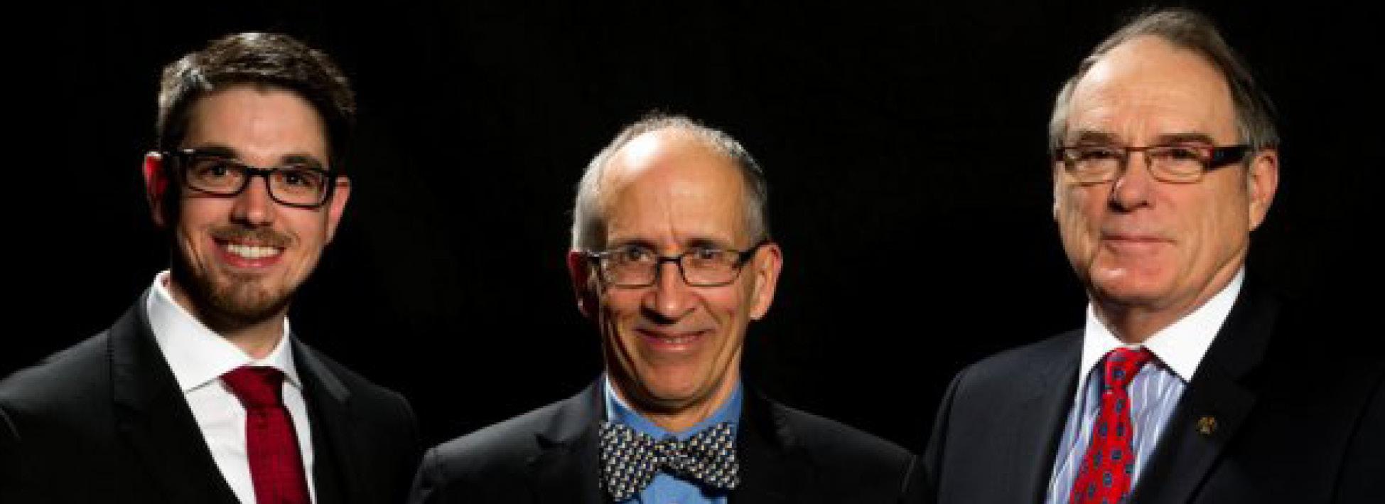 Jacques Mauffette – Photo prise lors de la remise du prix