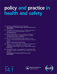 policy and practice in health and safety