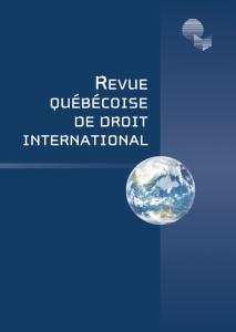 L'État de droit en Amérique latine et au Canada