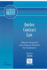 Quebec Contract Law, 2nd Edition
