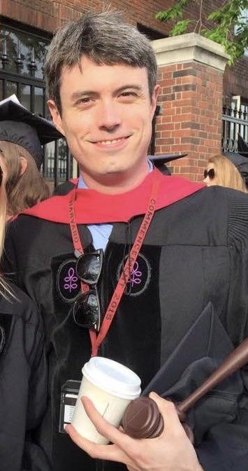 Le professeur McDougall à Harvard lors de ses études