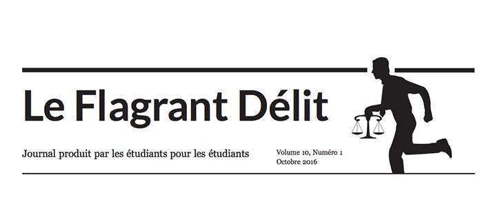 Logo du Flagrant Délit