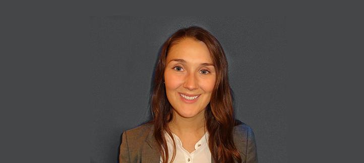 Geneviève Favreau, récipiendaire de la Bourse pour l'implication et la réussite Cain Lamarre 2016