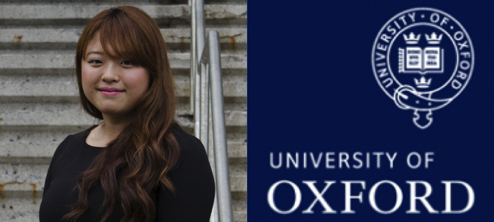 Shunghyo Kim's picture and Oxford University's logo