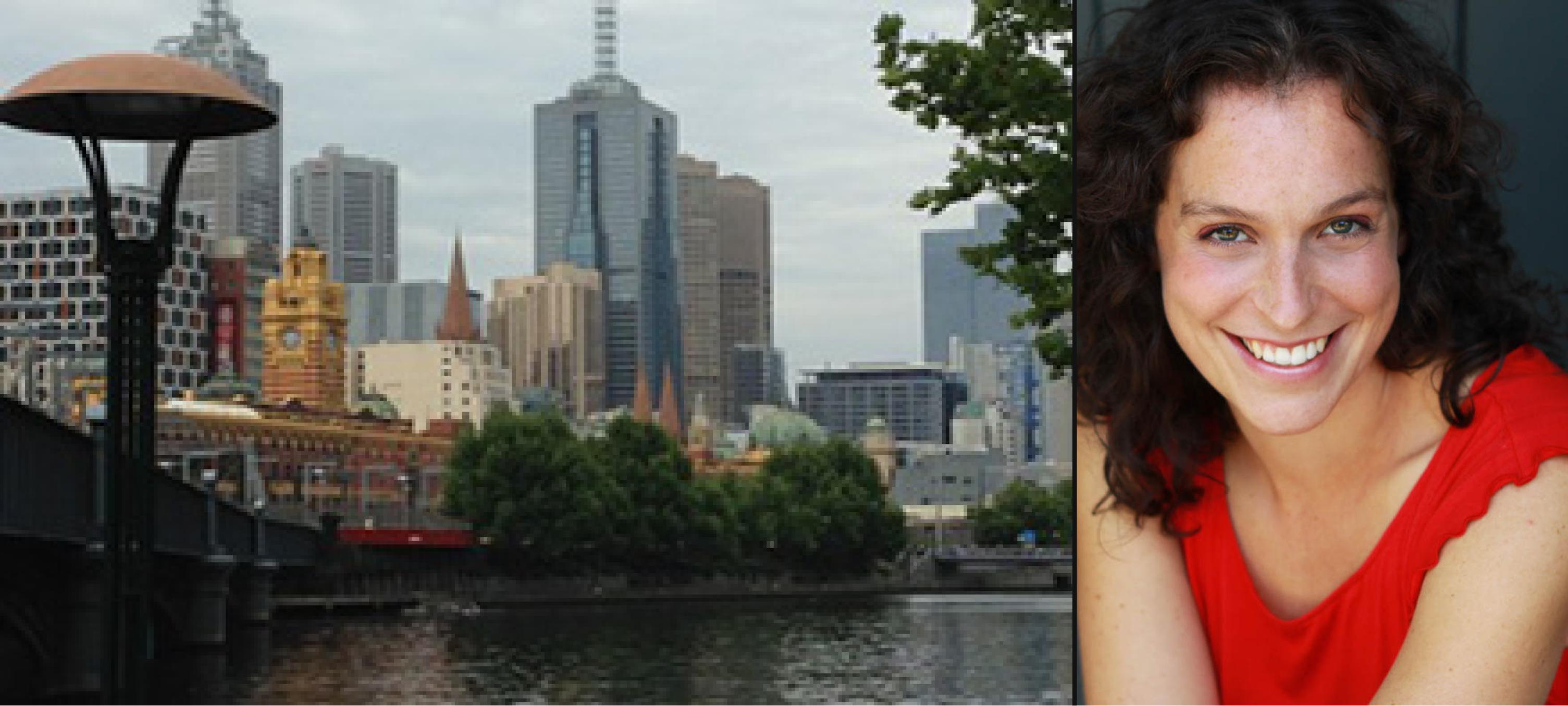 Vue de Melbourne et photo de Maude Choko
