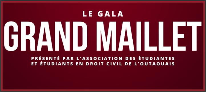 Logo du gala grand maillet