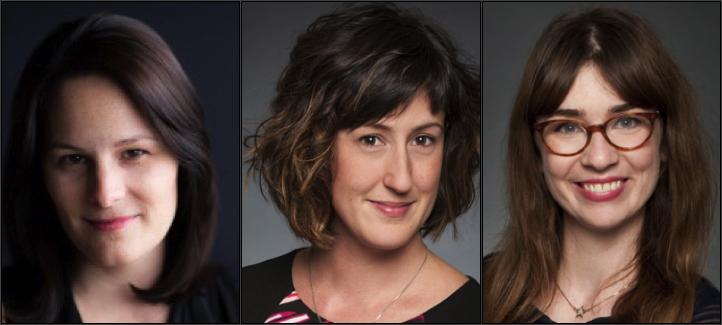 Les professeures Josée Aspinall, Audrey Ferron Parayre et Mariève Lacroix
