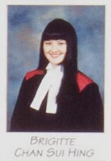 Brigitte Chan en 1997