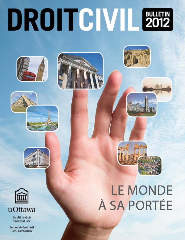 Page couverture du Bulletin de droit civil 2012
