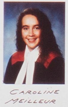 Caroline Meilleur en 1993