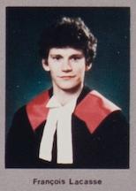 François Lacasse en 1985