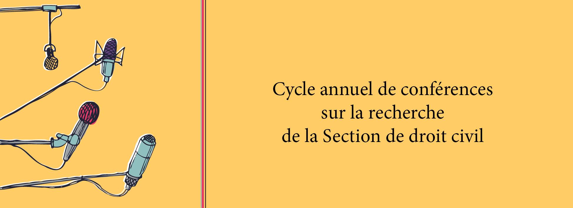 Cycle annuel de conférences sur la recherche