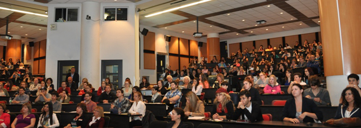 Photo de l'auditorium 147 lors de la journée portes ouvertes