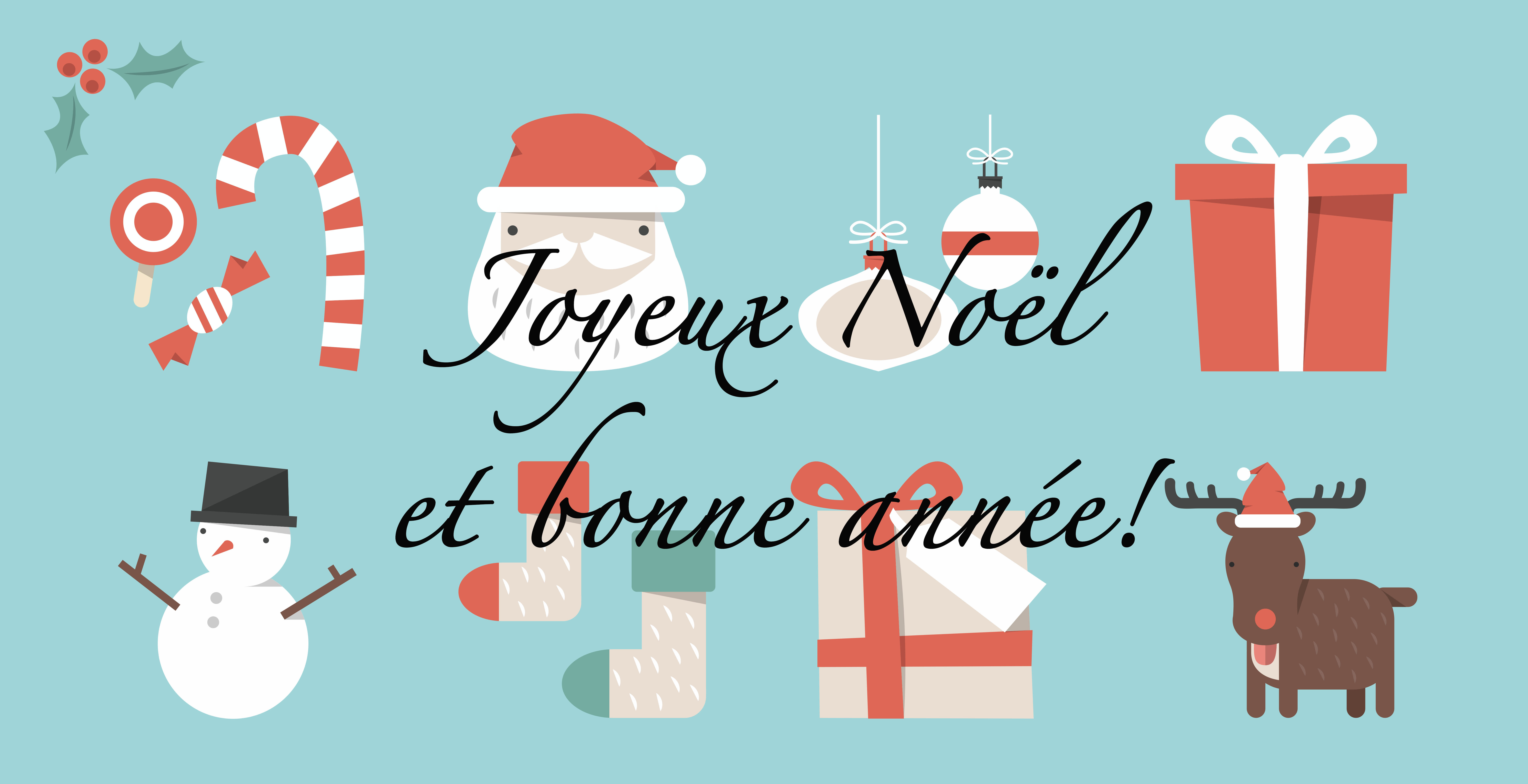Joyeux Noël et bonne année