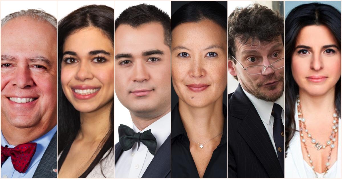 Les 6 lauréats 2021