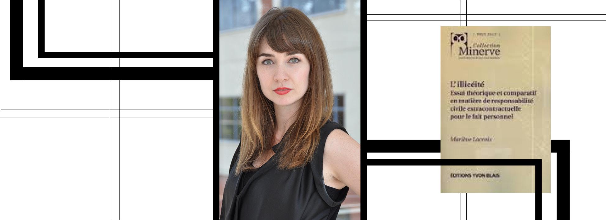 Marieve Lacroix remporte le prix Minerve pour sa thèse de doctorat