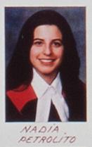 Nadia Petrolito en 1996