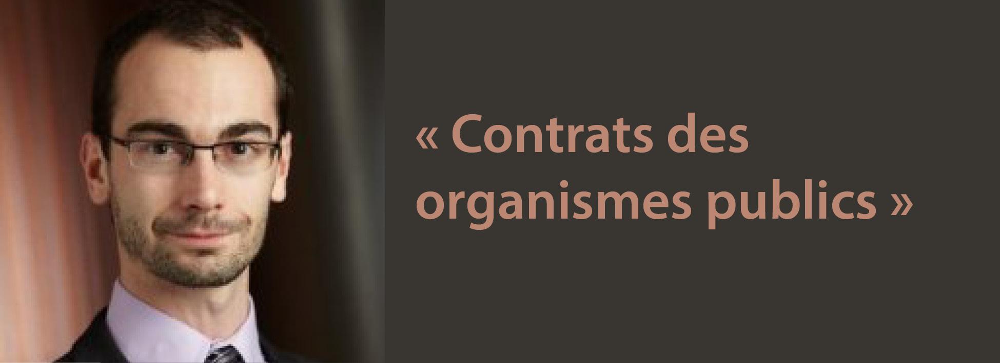 Nicholas Jobidon coécrit un livre sur les contrats des organismes publics