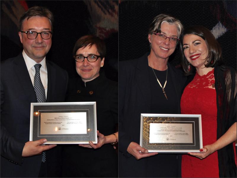 Bruno Dugay et Hélène Trudel, récipiendaires de l'Ordre du mérite 2017