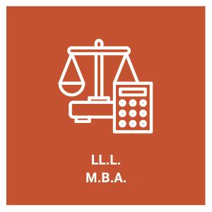 pictogramme pour le programme d'étude LL.L. M.B.A.
