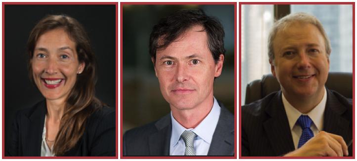 France Margaret Bélanger, Grégoire Bisson et François Boileau